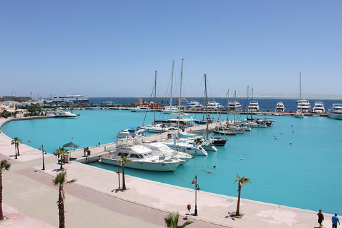 Hurghada przystań zdjęcie