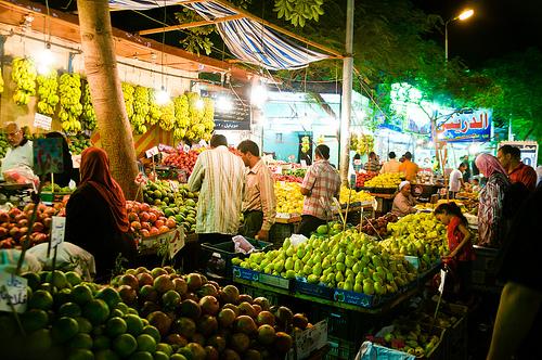 Targowisko w Kairze