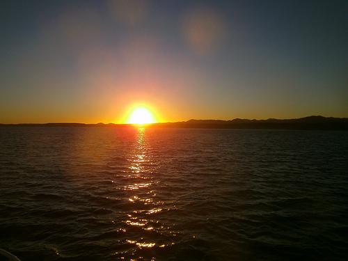 Ras Muhammad zachód słońca